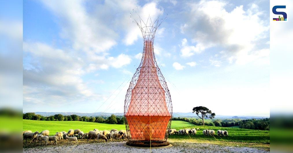 Warka an unusual design solution to drinking water, Jarahieh School that provides educational facilities