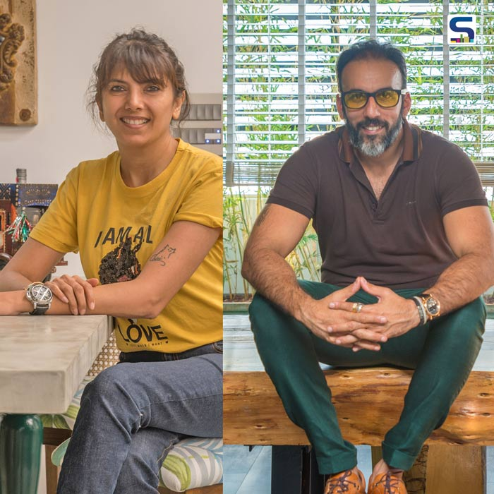 Aamir & Hameeda: A Funky Apartment Standing Out in The Clermont Towers
