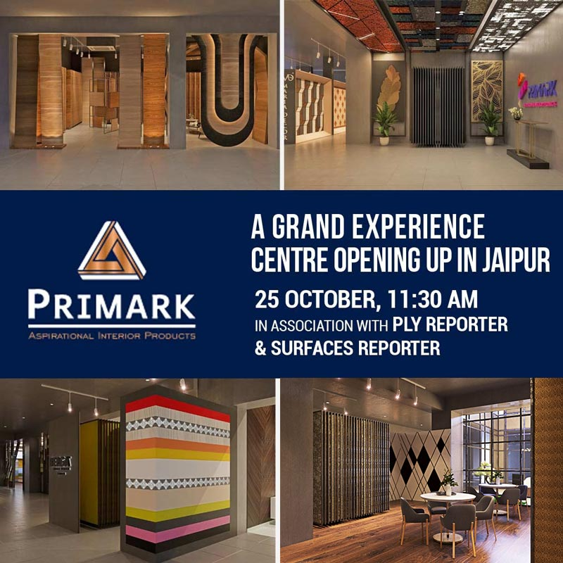 The Grand Virtual Launch of  PRIMARK -Largest One-Stop Experience Centre for Interior Materials | Jaipur