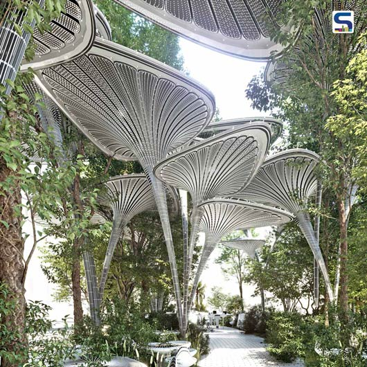 OASYS - A Real Oasis Amidst the Busy Streets of Metropolis | Mask Architects| Abu Dhabhi