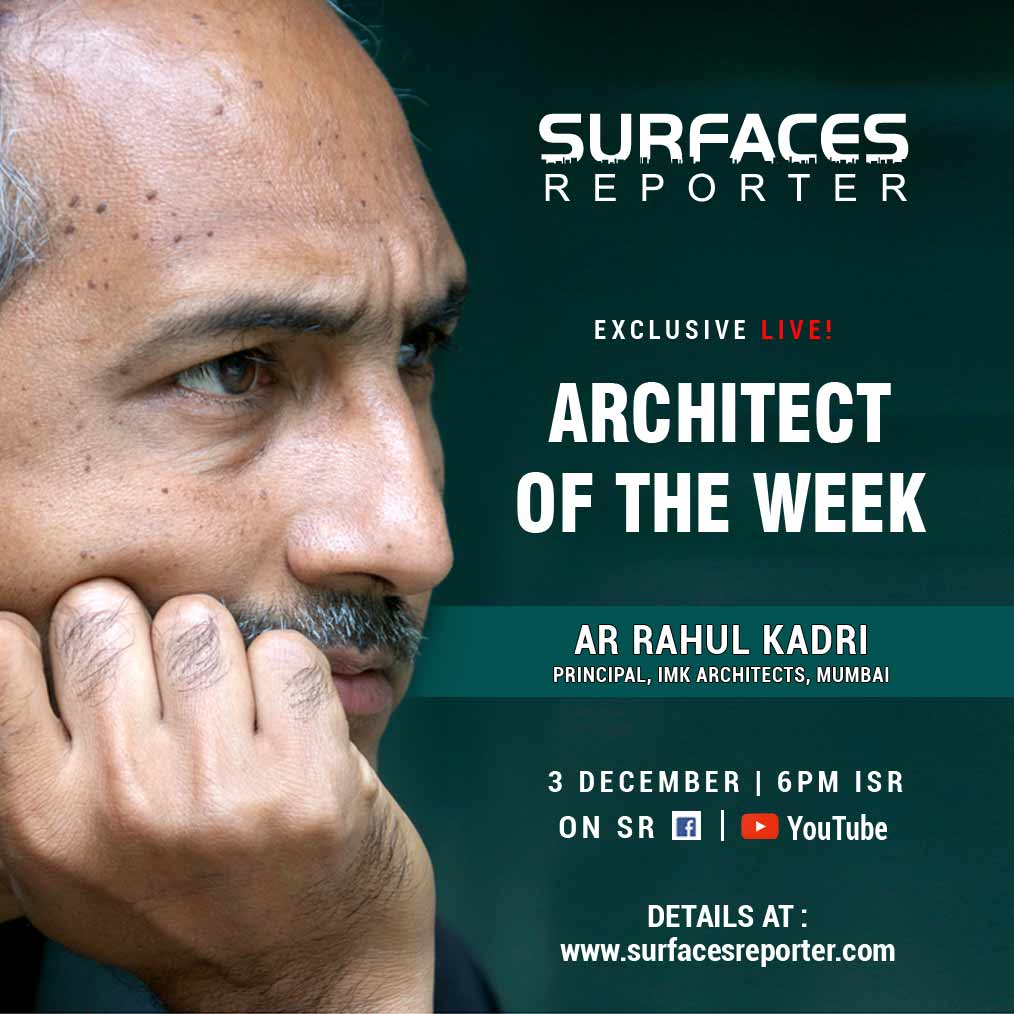 Ar Rahul Kadri and Vertica Dvivedi LIVE on SURFACES REPORTER