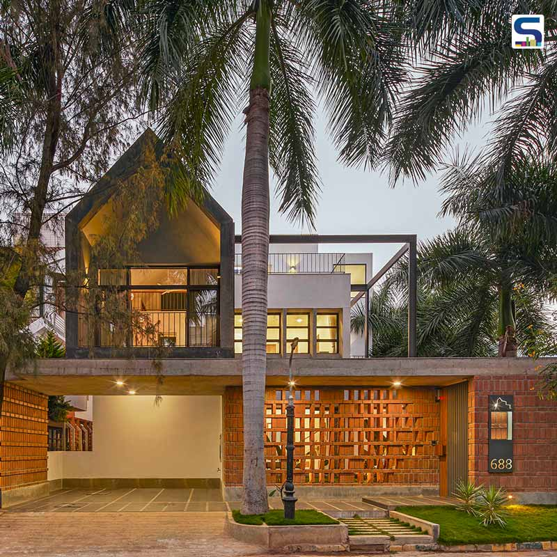 A Serene Home For Three Generations Layered in South Indian Temple Complex | Between Spaces | Bangalore | Cuckoo's Nest